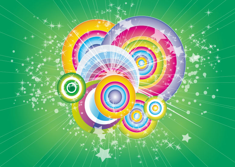 Free Vector Graphic Retro background