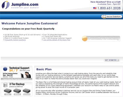 jumpline-free-basic-quarterly-hosting