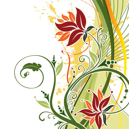 fashion-floral-background-vector1