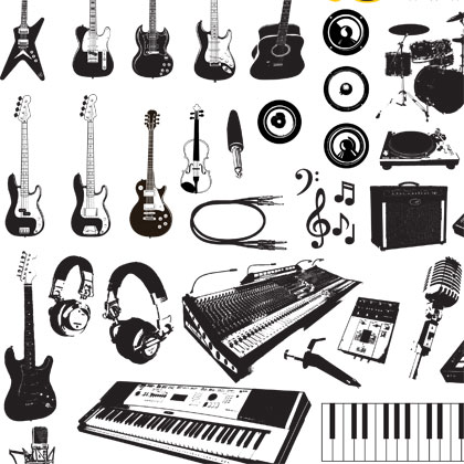 music-instruments-vector-graphics