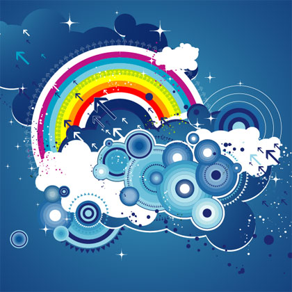 the-modern-trend-of-design-elements-free-vector-graphic