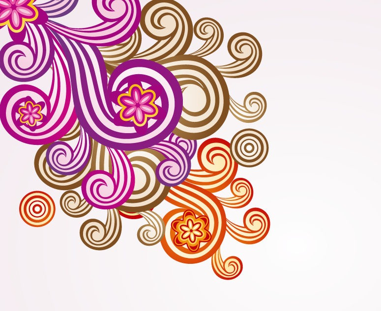 Floral Ornament Vector Art