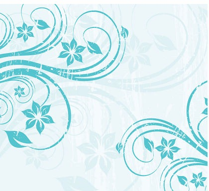 Free Blue Swirls Vector Graphic