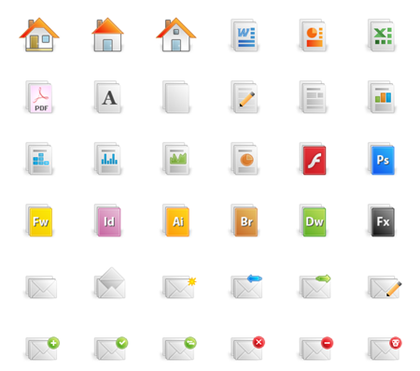 Free Icon set--Quartz Icon Pack Preview
