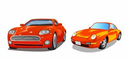Free Two Cars Vector