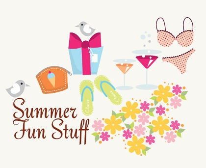 Free Vector – Summer Fun Stuff! | Free Vector Graphics | All Free ...