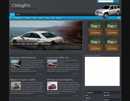 Free WordPress Theme - CMag Pro