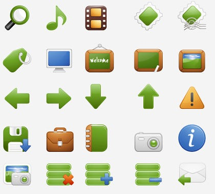 A Free Stock Vector Iconset by Milky