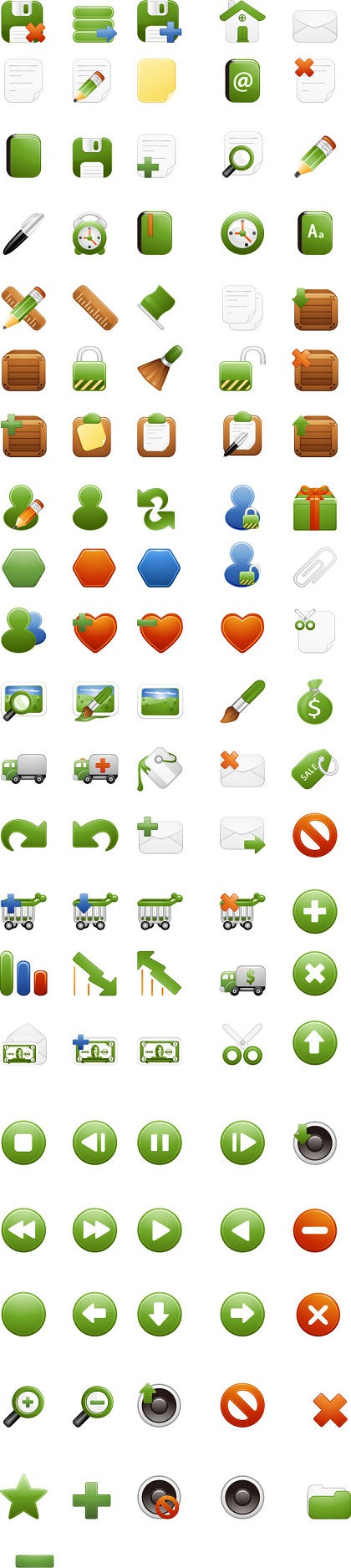 A Free Stock Vector Iconset by Milky-2