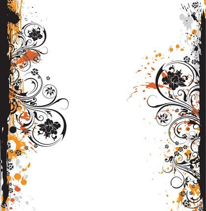 Fashion Design Flower Pattern