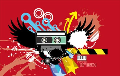 Trend-Abstract-Vector