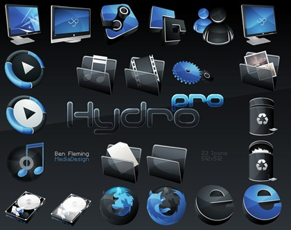 Free Icons Set - Hydro Pro icons