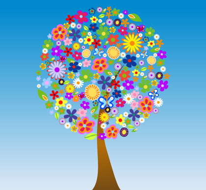 Free_Vector_Tree_Flowers_Preview