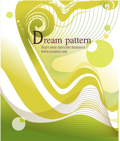 Free Dream Pattern Vector-3
