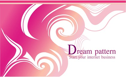 Free Dream Pattern Vector-4
