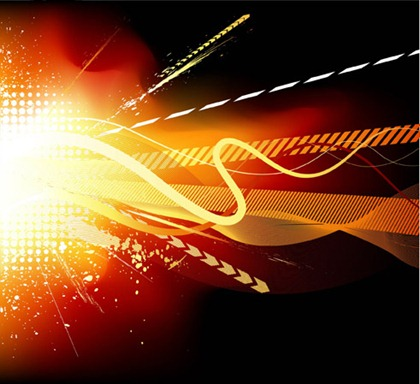 Cool trend glare element vector graphic 1
