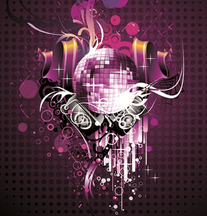 Free Vector Musical Theme of the Trend of Illustration 1