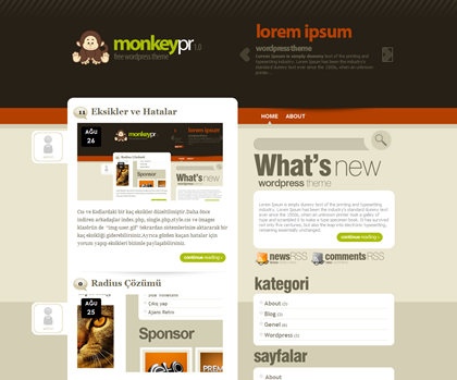 Monkeypr WordPress Theme