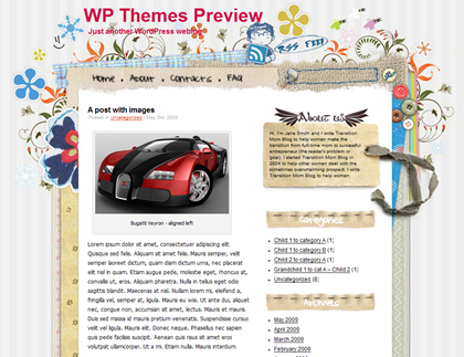 WP Themes Preview - Craftwork