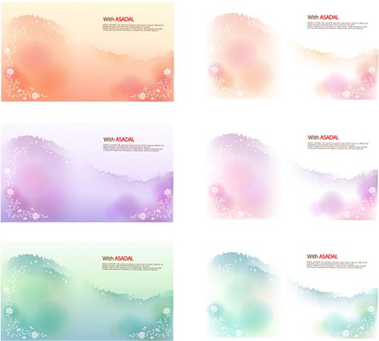 Dream lace and ink background vector