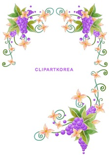 Flowers, fruit and butterfly lace Vector material (10)