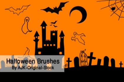 Halloween Brush pack 2