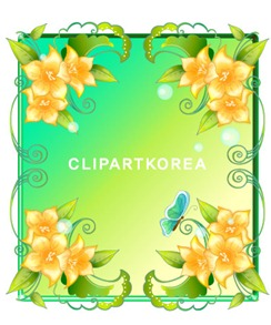 Multi-style lace flowers and butterfly Vector material (2)