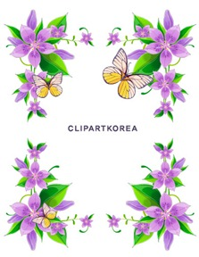 Multi-style lace flowers and butterfly Vector material (4)