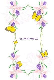 Multi-style lace flowers and butterfly Vector material (8)