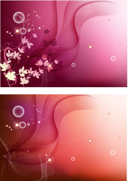 Patterns and lines background vector