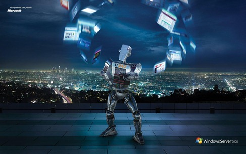 Windows Server 2008 robot ad wallpapers1920x1200 (2)