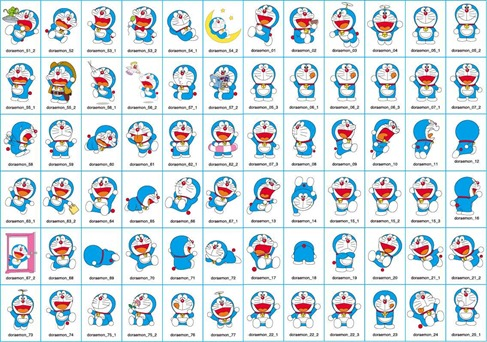 Doraemon Cartoon Illustrator Vector Graphics