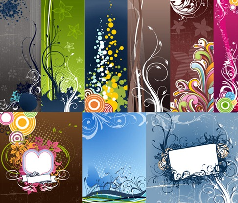 Fashion Vector Background Graphic Pack Preview