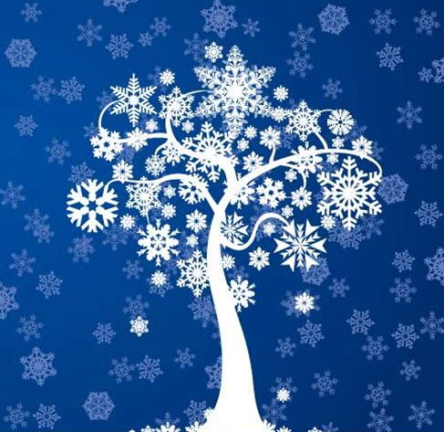 Free Graphic Vector on Free Winter Tree Card Vector Graphic   Free Vector Graphics   All Free