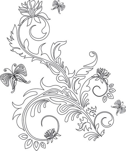 2nd-Vector-Floral-Ornaments