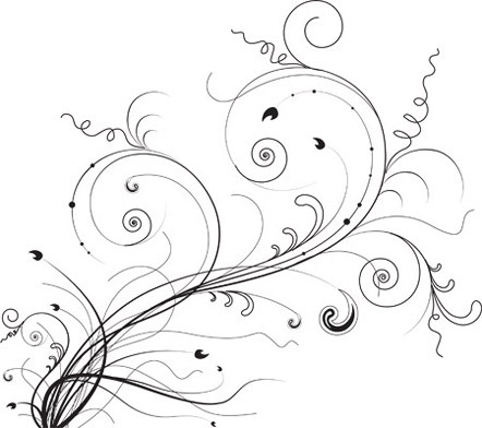3. Vector Floral Ornaments
