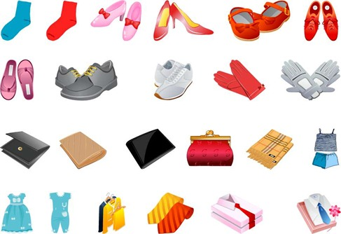 Free Clothing Vector Pack Preview
