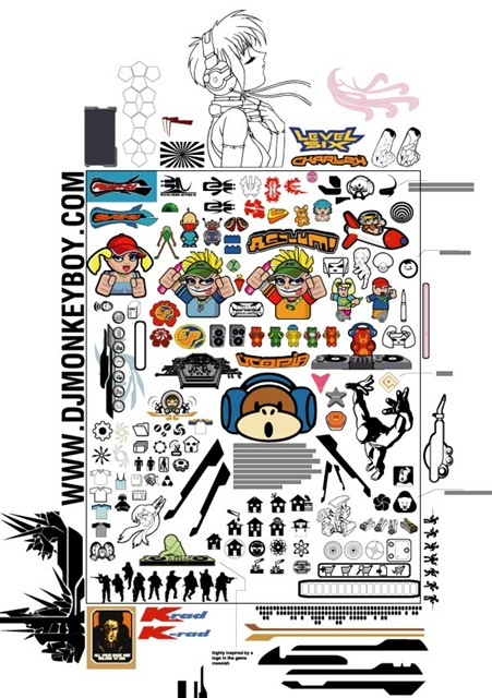 Monkey's Big Vector Pack 1 Preview