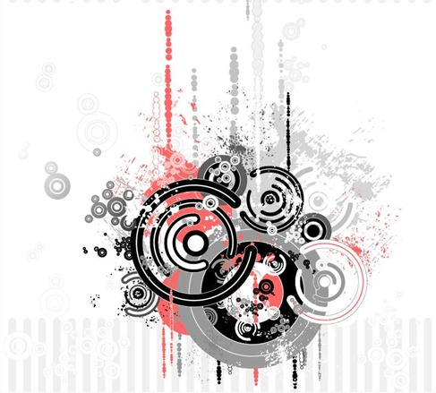 Trend Circle Vector Graphic Preview