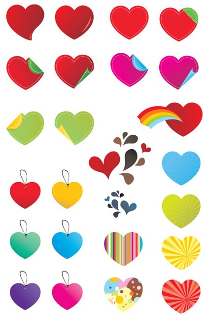 25-Free-Vector-Hearts-Preview