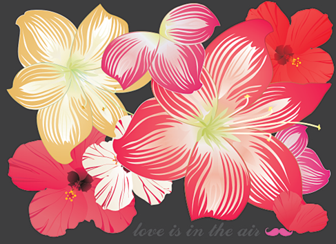 Free Flower Vectors Preview