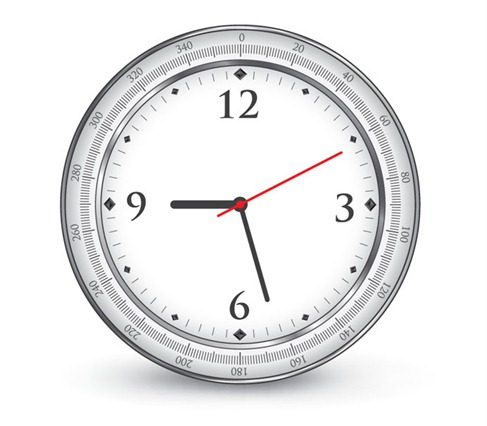 Free-Vector-Clock-Preview