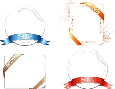 Ribbon Design Vector Graphic Preview