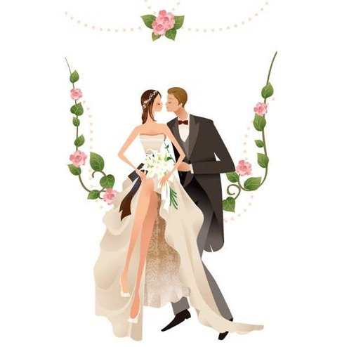 Wedding Vector Graphic 2 Preview