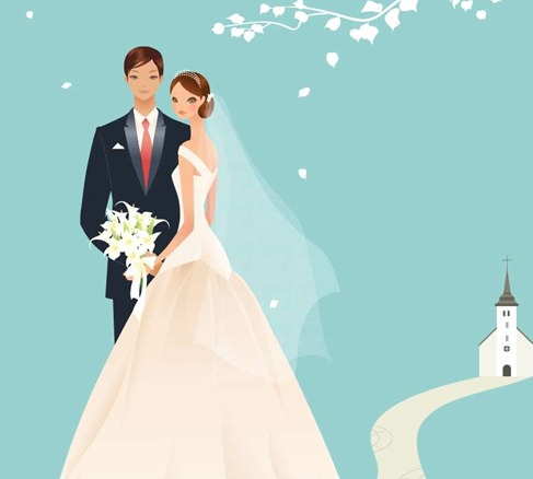 Wedding Vector Graphic 39 Preview
