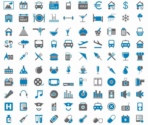 200 Free Web Icons 01 Preview