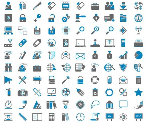 200 Free Web Icons 02 Preview