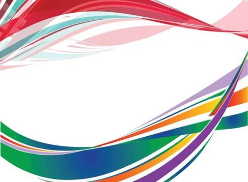 Free Colorful Wave background illustration Preview