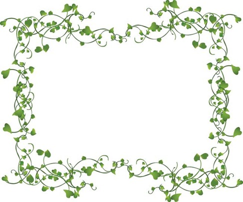Pictures Frames on Vines Frame Vector   Free Vector Graphics   All Free Web Resources For