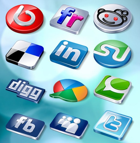 Free Social Buzz Icon Pack